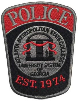 Campus police arm patch