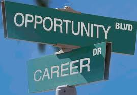 Street Signs: Intersection of Career and Opportunity