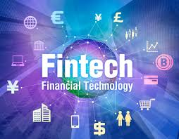 Fintech Financial Technology Graphic Logo